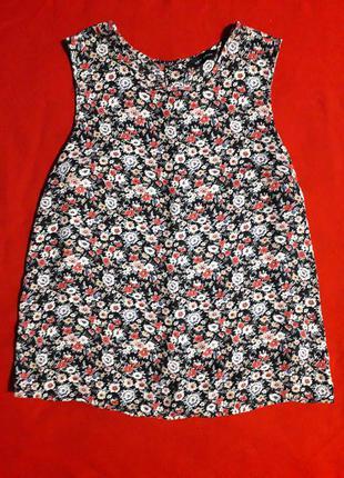 Блуза в цветочний принт от new look