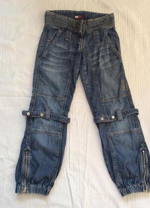 Tommy hilfiger оригинальные джинсы на девочку