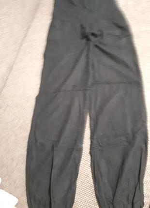 Льняные бандажные штаны.