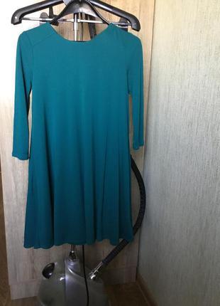 Платье трапеция bershka