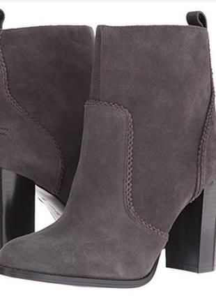 Шикарные ботинки ботильоны натуральная кожа замш р.39, 39,5, 40 бренд