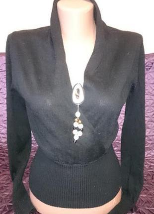 Пуловер с городским шиком/business-casual