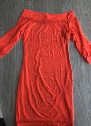 Сетка платье