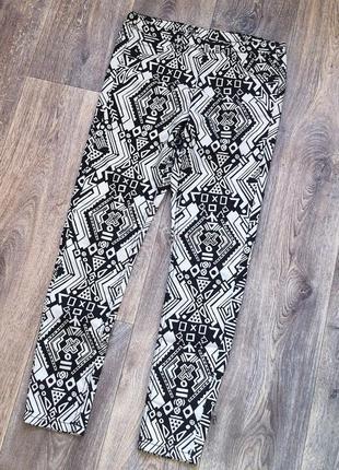 Стильные брюки от h&m размер s/m
