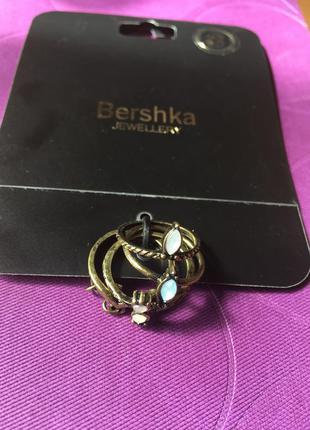 Новые кольца 4шт. под старинные украшения bershka