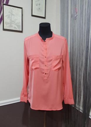 Яркая блуза рубашка h&m