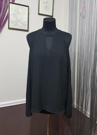 Черная блуза amisu