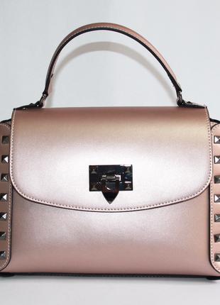 Женская сумка италия натуральная кожа
