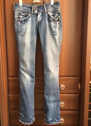« рваные» джинсы pepe jeans