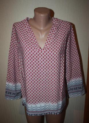 Кофта туника блуза в орнаментах бохо этно этническая