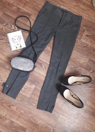 Суперские укороченные брюки zara
