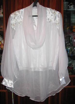 Нарядная блуза, можно для беременных