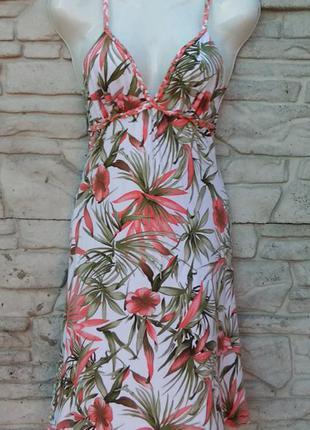 Распродажа!!! красивый сарафан, платье в принт jane norman