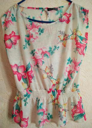 Цветочная блуза блузка  atmosphere