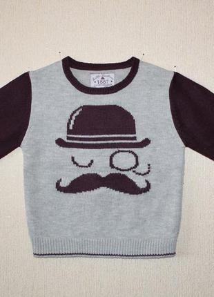 Стильный свитер rebel для юного модника