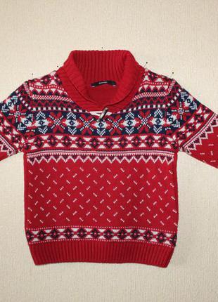 Стильный свитер george для юного модника