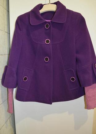 Яркая весенняя куртка-пальто