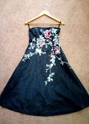 Monsoon платье вышивка