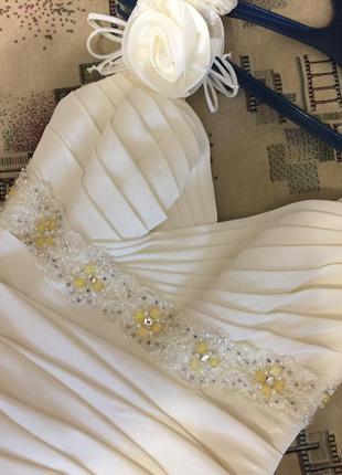 Очень крутое платье ручной работы!