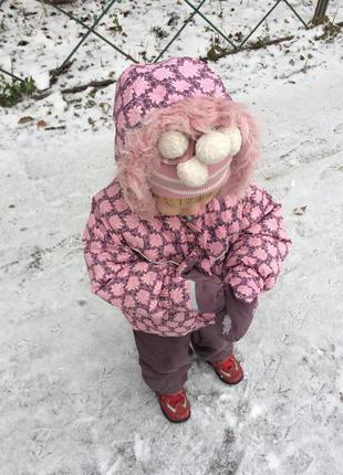 Комплект зимней одежды 86+6 см от lenne комбинезон шлем краги