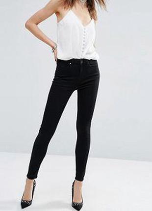 Черные джинсы скинни манго с замочками по бокам и много скидок 🥳🥳🥳🥳