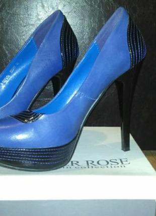 Необычные туфельки silver rose