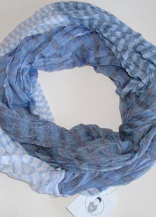 Легкий снуд, шарф-хомут мужской accessoires c&a, германия