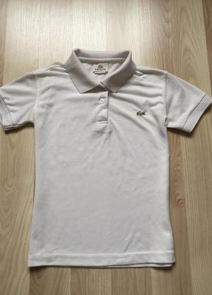 Футболка lacoste . made in france