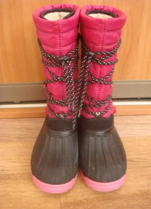 Зимние сапоги валенки л demar samanta 33-34 размер ботинки