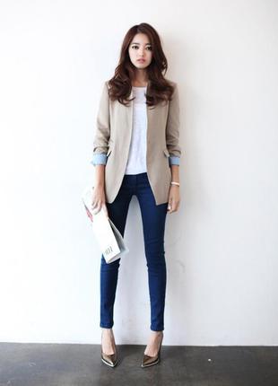 Узкие джинсы скинни  levis