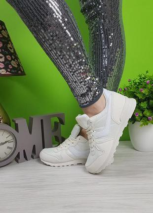 Белые кроссовки очень удобные и легкие все размеры из польши