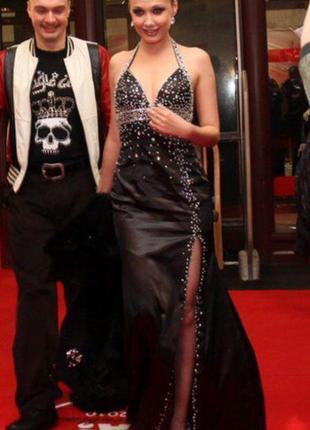 Вечернее выпускное платье бальное сарафан