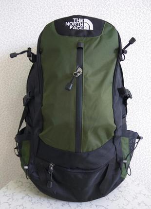 Рюкзак the north face туристический экспедиционный, цвет haki 40 l. акционная цена