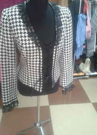 Пиджак гусиные лапки