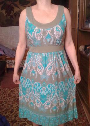 100%вискоза, платье  monsoon, р 14