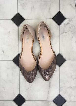 Обмен туфли на низком ходу