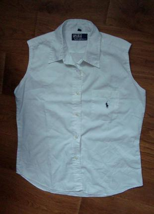 Рубашка безрукавка ralph lauren