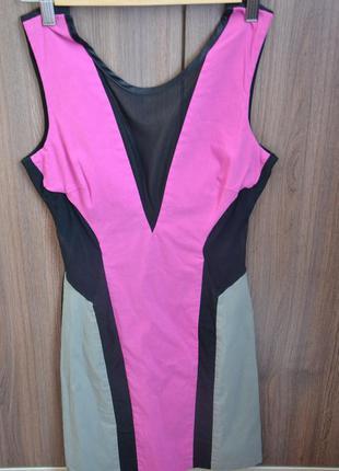 Платье с прозрачной сеточкой. смотрится супер!