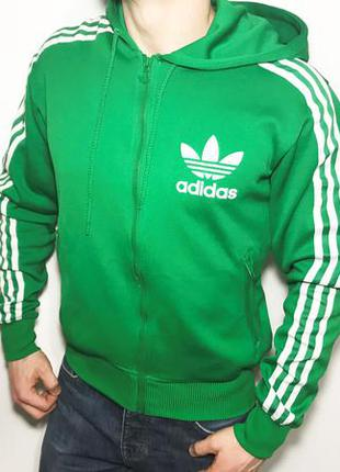 3b466ae2e23e Спортивная кофта,толстовка,олимпийка adidas original мужская зеленая ...