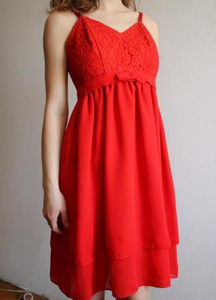 Красное платье / червона сукня