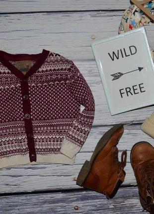Обалденный стильный и эффектный свитер джемпер 12 - 18 месяца 83 см