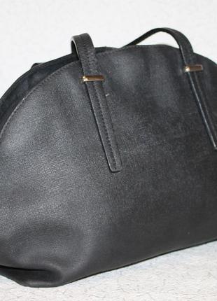 Кожаная сумка от braska кожа саффиано