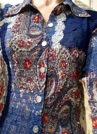 Рубашка ' phase eight' блузка винтаж