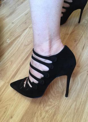 Замшевые туфли braska