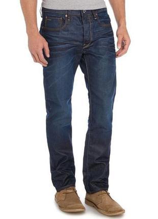Оригинальные классические мужские джинсы g-star raw р.46 (30/32) тунис