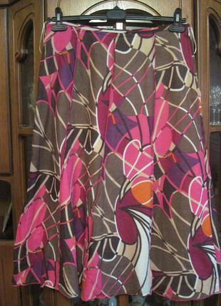 Фирменная натуральная красивая юбка