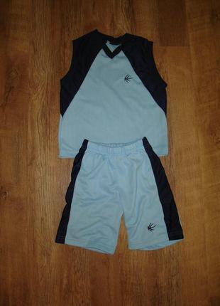 Спортивный костюм - майка и шорты rimrocka 4t на 4 года
