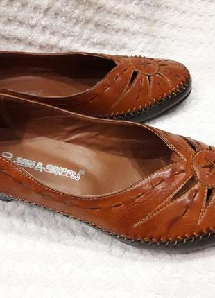 Туфли женские натуральная кожа 40р новые