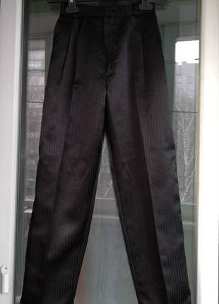 Брюки школьные р.140 мальчику 9-10л, штаны в школу, форма школьная