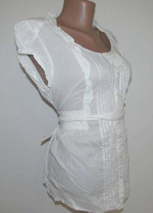 Блузка h&m india, хлопок, m-l, как новая!